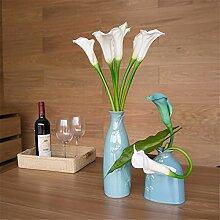 Hochzeit Dekoration DIY Home Garten Künstliche Blumen?die Hufe von Lin künstliche Blumen, Weiß