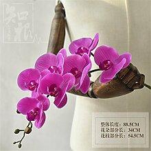 Hochzeit Dekoration DIY Home Garten Künstliche Blumen?die Motte emulation Orchid Flower, Violett