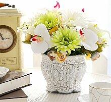Hochzeit Dekoration DIY Home Garten Künstliche Blumen?Emulation Blume, Grün