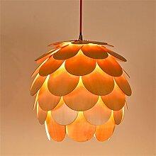 Holz, Zubehör kreative Schmuck Air Charm Kamelie Modellierung Lampenschirm Lampe Shell Garten Schlafzimmer