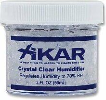 Humidorbefeuchter Xikar Dose aus Kunststoff transparent mit Acrylpolymer-Kristallen