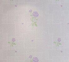 KHSKX-Die Gewebe Garten Tapete, Dreidimensionale Prägung Schlafzimmer Tapeten, Wohnzimmer, Tv, Wand - Tapete, 10 * 0.53M,Ein