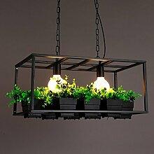 KHSKX Garten, Blumen und Pflanzen getopft schmiedeeiserne Leuchter , black