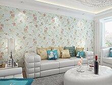 KHSKX-Garten - Vlies Tapete, Tv Hintergrund Wall, Wall Paper, Wohnzimmer, Schlafzimmer, The Wallpaper, 10 * 0.53M,E