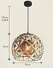 KHSKX moderne, minimalistische minimalistischen rattan kronleuchter, kronleuchter, schlafzimmer bar tee - geschäft rattan seil nest anhänger einhändig garten,b