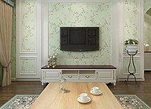 KHSKX-Nicht Aus Tapete, Wohnzimmer, Schlafzimmer, Hintergrund - Tapete, Retro - Garten - Tapete, 10 * 0.53M,D