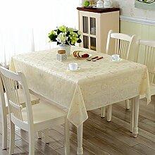 Kontinentale Öl Einweg Tischdecken/ Burn-ProofPVCTischdecken/wasserdichte Tapete/Der print Tischdecken/Tischsets/Kunststoff Tischdecke-A 90x150cm(35x59inch)