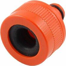Kunststoff Garten Spray Schlauchtülle Anschluss Orange Rot