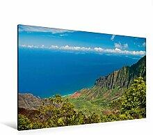 Leinwand Waimea Canyon, Garten-Insel (Kauai) 120x80cm, Special-Edition Wandbild, Bild auf Keilrahmen, Fertigbild auf hochwertigem Textil, Leinwanddruck, kein Poster