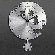 LFNRR Promotion Uhren Große Wanduhr Wanduhr ansehen Garten für europäische Mode Deko 2 neueste Stil