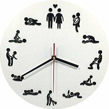LFNRR Promotion Uhren Große Wanduhr Wanduhr ansehen Garten für europäische Mode Deko 5 neueste Stil