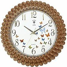 LFNRR Promotion Uhren Große Wanduhr Wanduhr ansehen Garten für europäische Mode Deko 1 neueste Stil