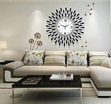 LFNRR Promotion Uhren Große Wanduhr Wanduhr ansehen Garten für europäische Mode Deko 7 neueste Stil