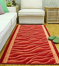 LIXIONG Teppiche, Fußmatten, Eingangsteppiche, Bettdecken, Bodenbelag Fenster Treppen Teppich, 120 * 60cm Rutschfester Fußpolster ( Farbe : A , größe : 120*60cm )