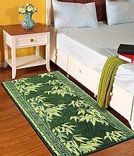 LIXIONG Teppiche, Fußmatten, Eingangsteppiche, Bettdecken, Bodenbelag Fenster Treppen Teppich, 120 * 60cm Rutschfester Fußpolster ( Farbe : B , größe : 120*60cm )