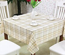 Max Home@ Europäische hochwertigem Garten Tetabellentuch wasserdicht Einweg-Quadrat Scharf- heißen Staub Tischdecken
