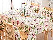 Max Home@ European-style Garten Blumentuch Tischdecken ( größe : 120×120cm )