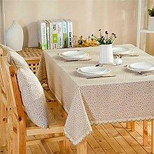 Max Home@ European-style Garten Blumentuch Tischdecken ( größe : 60*120cm )
