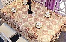 Max Home@ Moderne im europäischen Stil Garten Tuchkunst / Stickerei / Stickerei / Hohl / Spitze / Craft Tischdecken ( größe : 110cm*160cm )