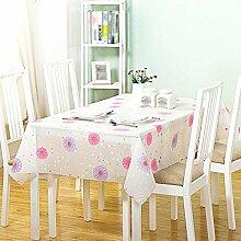 Moderne einfache home Kunststoff wasserdichte Anti-Öl-Tischdecken, Tischtücher kostenlos Wasch-Umwelt-Tapete , #3 , 152*203cm
