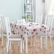 Moderne einfache home Kunststoff wasserdichte Anti-Öl-Tischdecken, Tischtücher kostenlos Wasch-Umwelt-Tapete , #1 , 137*183cm