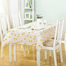 Moderne einfache home Kunststoff wasserdichte Anti-Öl-Tischdecken, Tischtücher kostenlos Wasch-Umwelt-Tapete , #4 , 152*203cm