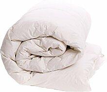 Nightflight Mikrofaser, 10,5 tog Bettdecke für Einzelbett, aus Baumwolle, Weiß