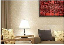 Non - Vliestapete Einfach Farbe Tapete Karierte Tapete Schlafzimmer Wohnzimmer,Beige