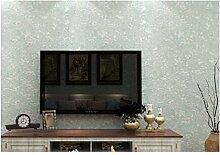 Non - Vliestapete Einfach Farbe Tapete Karierte Tapete Schlafzimmer Wohnzimmer,Waterblue