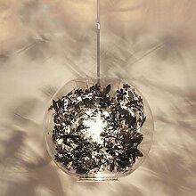 Nordic modernen minimalistischen Wohnzimmerlampe/Kreative Persönlichkeit Kunst Studie Lampe Schlafzimmer/ kleiner Kronleuchter-Garten-Restaurant und Bar-C