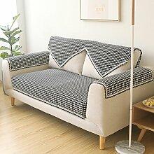Plaid Sofakissen/Stil der Garten Sofakissen/Einfache und moderne Couch Handtücher der vier Jahreszeiten-B 65x150cm(26x59inch)