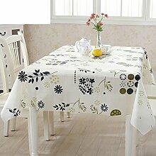PVC Einweg-Tischdecken/wasserdichte Tapete/Bildende Kunst/Tischdecken/ Anti-Kamelie Tischdecke/Tischdecke decke/Tischsets/Tischsets-D 100x135cm(39x53inch)