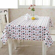 PVC Einweg-Tischdecken/wasserdichte Tapete/Bildende Kunst/Tischdecken/ Anti-Kamelie Tischdecke/Tischdecke decke/Tischsets/Tischsets-E 100x135cm(39x53inch)