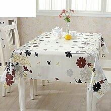PVC Einweg-Tischdecken/wasserdichte Tapete/Bildende Kunst/Tischdecken/ Anti-Kamelie Tischdecke/Tischdecke decke/Tischsets/Tischsets-A 70x150cm(28x59inch)