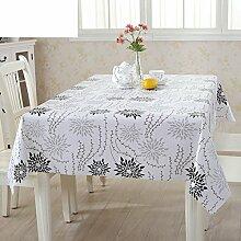 PVC Einweg-Tischdecken/wasserdichte Tapete/Bildende Kunst/Tischdecken/ Anti-Kamelie Tischdecke/Tischdecke decke/Tischsets/Tischsets-C 135x200cm(53x79inch)
