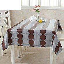 PVC Einweg-Tischdecken/wasserdichte Tapete/Bildende Kunst/Tischdecken/ Anti-Kamelie Tischdecke/Tischdecke decke/Tischsets/Tischsets-B 135x135cm(53x53inch)