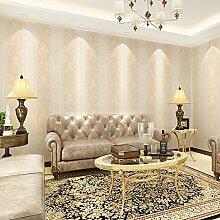 Reyqing Im Europäischen Stil, Vliestapeten, Wohnzimmer, Schlafzimmer, Arbeitszimmer Tapete, Beige, Wallpaper Nur