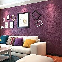 Reyqing Moderne, Einfache Einfarbig Arbeitszimmer Tapete, Verführerische Rose, Wallpaper Nur