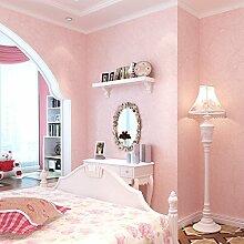 Reyqing Moderne, Einfache Einfarbig Arbeitszimmer Tapete, Warmes Rosa, Tapeten Nur