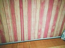 Reyqing Retro Tapete Wand Aufkleber Gestreiftem Holz Kleber, Ein