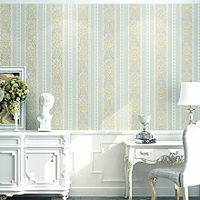 ReYQing Tv Hintergrund Wand _ Gestreifte Dicken Vlies-Tapete Schlafzimmer/Wohnzimmer Tv Hintergrund Wand Einfachheit