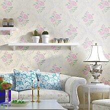 Reyqing Vliesgewebe, 3D Wallpaper, Wohnzimmer, Schlafzimmer Tapete, 50405 (Grün, Blau)