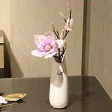San Tai@Blume Zuhause Hochzeit Garten Dekoration,Lieferinhalt:Enthält eine Flasche-29cm
