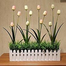 San Tai@Blume Zuhause Hochzeit Garten Dekoration,Lieferinhalt:Enthält eine Flasche-50cm