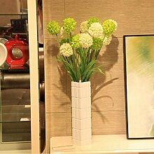 San Tai@Blume Zuhause Hochzeit Garten Dekoration,Lieferinhalt:Enthält eine Flasche