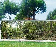 Sichtschutz für Garten, Terrasse, Balkon, Motiv Wald, 100%, 340x132cm