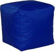 Sitzwürfel Sitzhocker Hocker Cube NYLON kobalt blau 40 x 40 x 40 cm