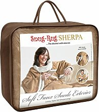 Snug Rug Kuschel-Wolldecke aus Sherpa