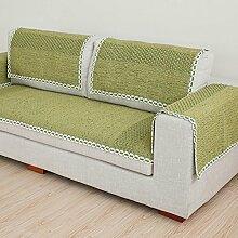 Stil der Garten Sofakissen/ vier Jahreszeiten Wohnzimmer Sofa Handtuch/ Sofa/ einfache und moderne Sofa abdecken-C 70x150cm(28x59inch)