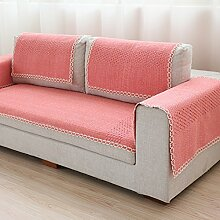 Stil der Garten Sofakissen/ vier Jahreszeiten Wohnzimmer Sofa Handtuch/ Sofa/ einfache und moderne Sofa abdecken-A 70x240cm(28x94inch)